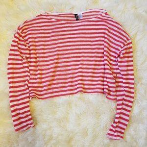 HM striped sweater
